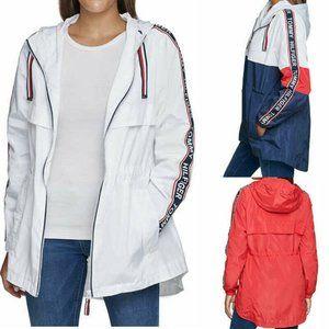 Tommy Hilfiger Ladies Windbreaker Rain Jacket Coat